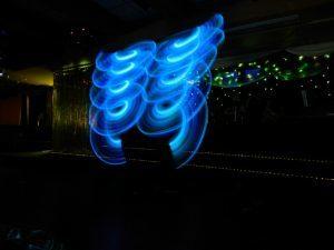 Lichtshow Veranstaltung
